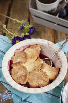 Cobbler ze śliwkami French Toast, Breakfast, Food, Morning Coffee, Essen, Meals, Yemek, Eten