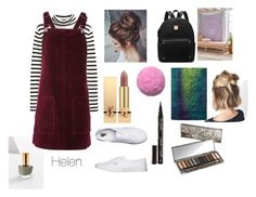"""""""Helen ( an oc )"""" by saskialkirkegaard on Polyvore featuring Urban Outfitters, Topshop, Yves Saint Laurent, Vans, Smith & Cult and Urban Decay"""