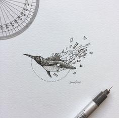 pinguino ideas de disenos de tatuajes de animales