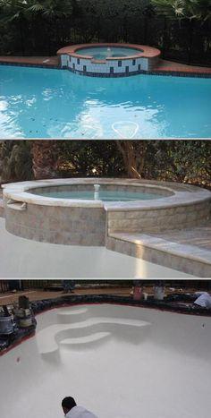 16 Best Semi Inground Pool Design Images Pool Designs