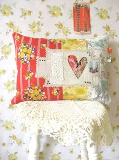 i love u summer sunshine cushion... by dottieangel on Etsy, $68.00
