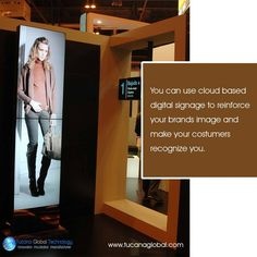 You can use #cloud based #digitalsignage to #reinforce your #brands #image and make your #costumers recognize you. #TucanaGlobalTechnology #Manufacturer #HongKong