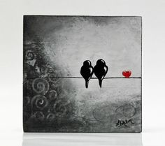 41 Super Ideas For Black Love Art Couples Paintings Wedding Gifts Art Prints, Art Block, Original Paintings, Christmas Paintings On Canvas, Painting, Art, Bird Prints, Black Love Art, Love Art