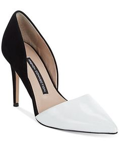 French Connection Elvia Pumps - Pointed-Toe Pumps - Shoes - Macy's