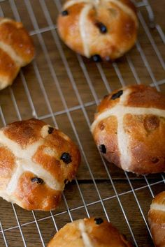 Lemon and White Chocolate Hot Cross Buns — The Cake Hunter