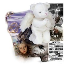 """""""The Tears & Prayers Of Teddy Bears (and I will leave it there)"""" by sharee64 ❤ liked on Polyvore featuring art"""