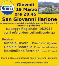 L'INDIPENDENZA DI SAN MARCO: INCONTRO CON INDIPENDENZA VENETA IL 19 MARZO!