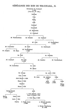 The Genealogy of the Kings of Tyrconnell, part 2 (1889), by Anthony Stokvis (1855-1924).