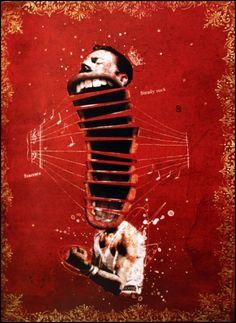 """""""Freddy Mercury"""", Retratos, Pablo Bernasconi"""