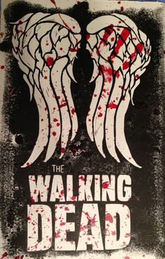 Walking Dead variant wood block print by WestStudio3.deviantart.com on @deviantART
