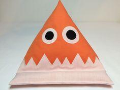 Monster-Lesekissen-iPadkissen in Orange von Sewing Love auf DaWanda.com
