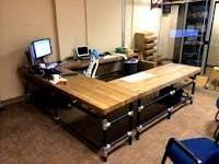 galvanized metal desk - Google Search
