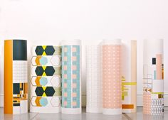 Wallpaper patterns by Kirath Ghundoo