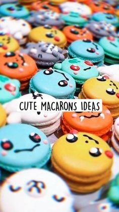 CUTE MACARONS IDEAS