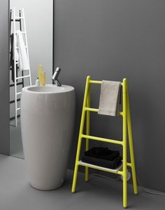 Ladder-shaped Scaletta radiator by Elisa Giovannoni #furniture