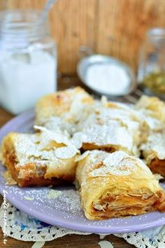 Happy Vegan, Romanian Food, Sweet Tarts, Strudel, Something Sweet, Sweet Desserts, Cookie Recipes, Biscuits, Bacon