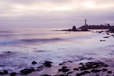 Purple Glow At Pigeon Point Lighthouse fine art photo prints for sale by Priya Ghose