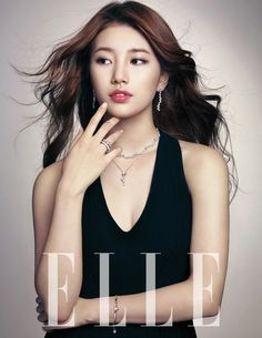 Suzy matures with Swarovsky for 'Elle Korea'