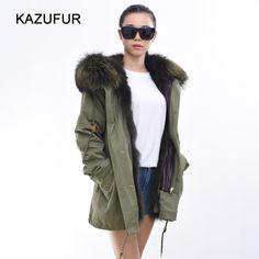 Check out this product on Alibaba.com APP 2016 women green parka with olive fox fur lining parka coat winter coat KZ150119