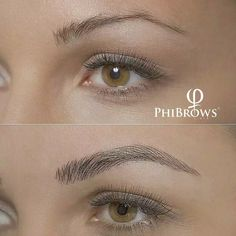 Microblading is NOT an eyebrow tattoo Mircoblading Eyebrows, How To Draw Eyebrows, Permanent Makeup Eyebrows, Eyeliner, Eye Makeup, Hair Makeup, Eyelashes, Brow Blading, Professionelles Make Up