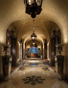 Arched Walls...Hallway. #The Good Life #All about Luxury life and Travel