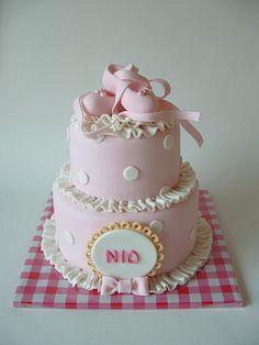 girlie ballet cake