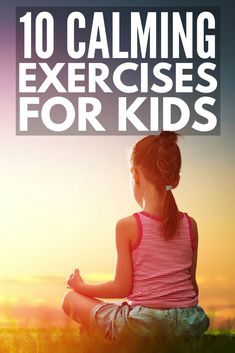 These breathing techniques for anxiety help children manage feelings of nervousness, stress, and anger, and help teach healthy coping skills so kids can calm down on their own when big emotions strike. Yoga For Kids, Exercise For Kids, Kids Workout, Relaxation Exercises, Calming Activities, Health Activities, Fitness Activities, Classroom Activities, Mindfulness For Kids