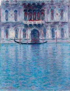 Claude Monet - Le Palais Contarini, Venise, 1908 - Oil on canvas