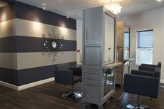 Indigo Salon - Kathy Ann Abell Interiors | San Diego | Salon Decor | Salon Design | Salon Stations