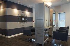 Indigo Salon - Kathy Ann Abell Interiors | San Diego | Salon Decor | Salon Design | Salon Stations