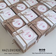 HAZLOVERDE Jabón Vegano Artesanal Pedidos: hazloverde@gmail.com #jabonesartesanales #veganos #vegan #handcrafted #packaging #packagingdesign #ecofriendly #regalos #detallitos #detalles #recuerditos #boda #babyshower #maternidad #bautizo #souvenirs #primeracomunion #cumpleaños #mty #monterrey