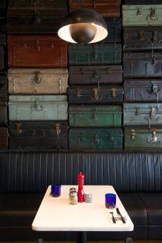 Luggage Wall