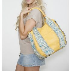 @amykathrynbags new Rose Yellow Tote for Spring 2012