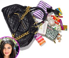 Jessica Szohr: What's in My Bag - Us Weekly What's In My Purse, Whats In Your Purse, What In My Bag, What's In Your Bag, Big Fashion, Womens Fashion, Jessica Szohr, Purse Organization, Organizing