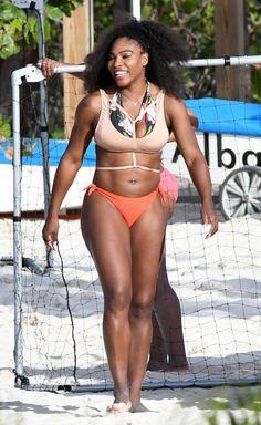 Serena Williams Big Hips, Serena Williams, Pretty Woman, Afro, Bikinis, Swimwear, Athlete, My Photos, Celebs