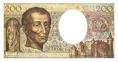 Collection Billet Banque de France - F.70a - 200 francs Montesqieu - nouveau texte pénal