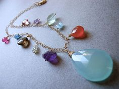 HIT THE JACKPOT Luxe multi stone necklace http://www.etsy.com/listing/85338971/hit-the-jackpot-luxe-multi-stone