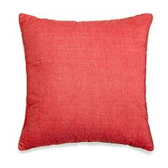 Montauk 20-Inch Square Toss Pillow in Flamingo