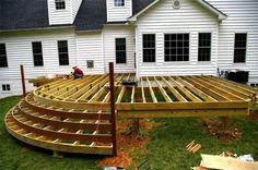 Decking Ideas for Large Gardens