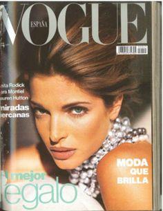 SPANISH VOGUE - DECEMBER 1991 COVER MODEL - STEPHANIE SEYMOUR