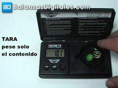 Balanza Digital My Weigh Triton T2 - Manual de uso y calibración -