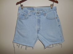 Levi's 505  Vintage Jeans    90's  zip Fly by ATELIERVINTAGESHOP