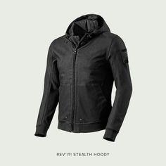 Stealth Hoody motorcycle jacket by REV'IT!