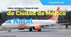 Ciudad de México a Natal en avión