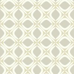Foxy Wallpaper in Beige and Grey design by York Wallcoverings