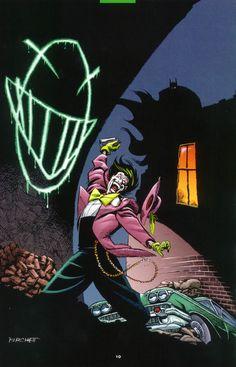 The Joker by Rick Burchett