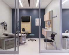 Herman Miller Healthcare - Exam room with Compass system