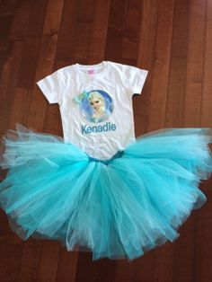 Personalized Frozen Shirt with Bow and Frozen by littlemacboutique, $39.99