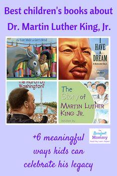 Martin Luther King Jr. activities for children | Books about Martin Luther King Jr. | Social justice for children