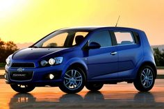 2013 chevy sonic ls hatchback. Nice color.
